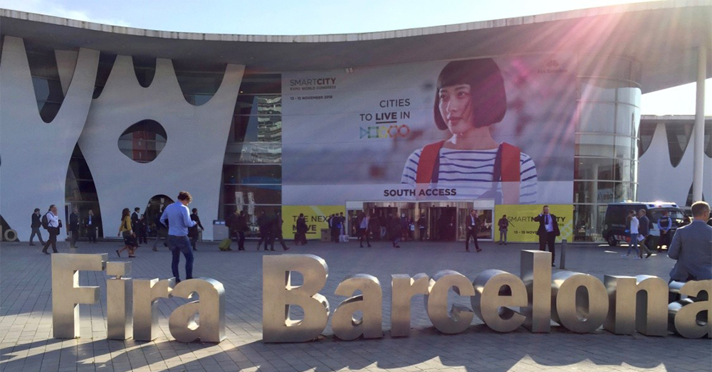 Entrén till Smart City Expo World Congress i Barcelona 2018